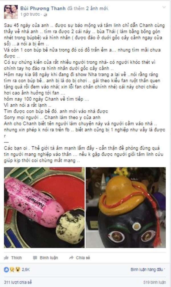 Phương Thanh tiết lộ tìm được 2 món 'đồ lạ' sau 100 ngày Minh Thuận mất? - Ảnh 1