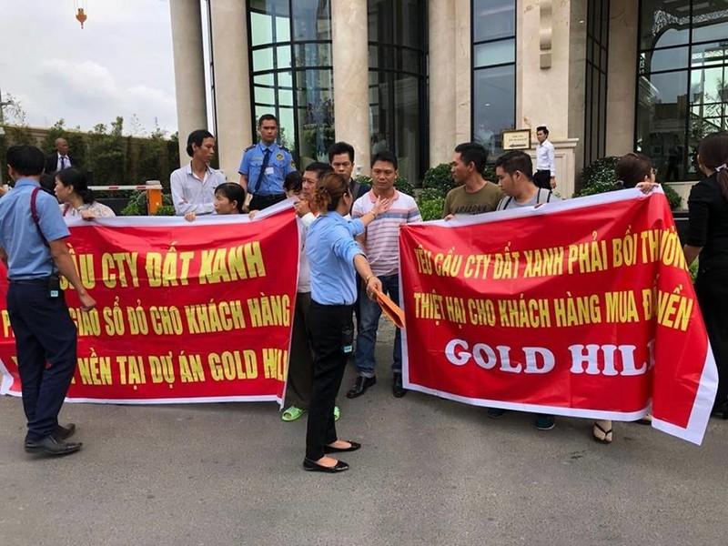 Tậpđoàn Đất Xanh lừa dối khách hàng mua đất tại dự án Gold Hill? - Ảnh 1