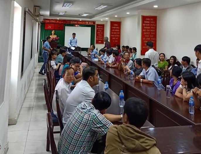"""Dân mua nhà ở xã hội 35 Hồ Học Lãm """"quậy tưng"""" Sở Xây dựng TP.HCM - Ảnh 6"""