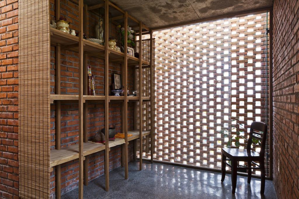 Nhà xây gạch nung không tô vữa có một không hai ở Đà Nẵng - Ảnh 6