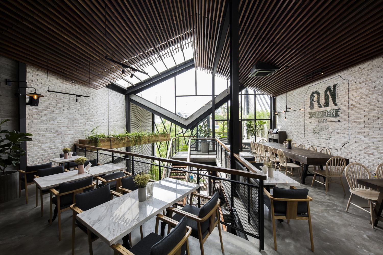 Thiết kế táo bạo: Mang vườn treo vào quán cà phê - Ảnh 3