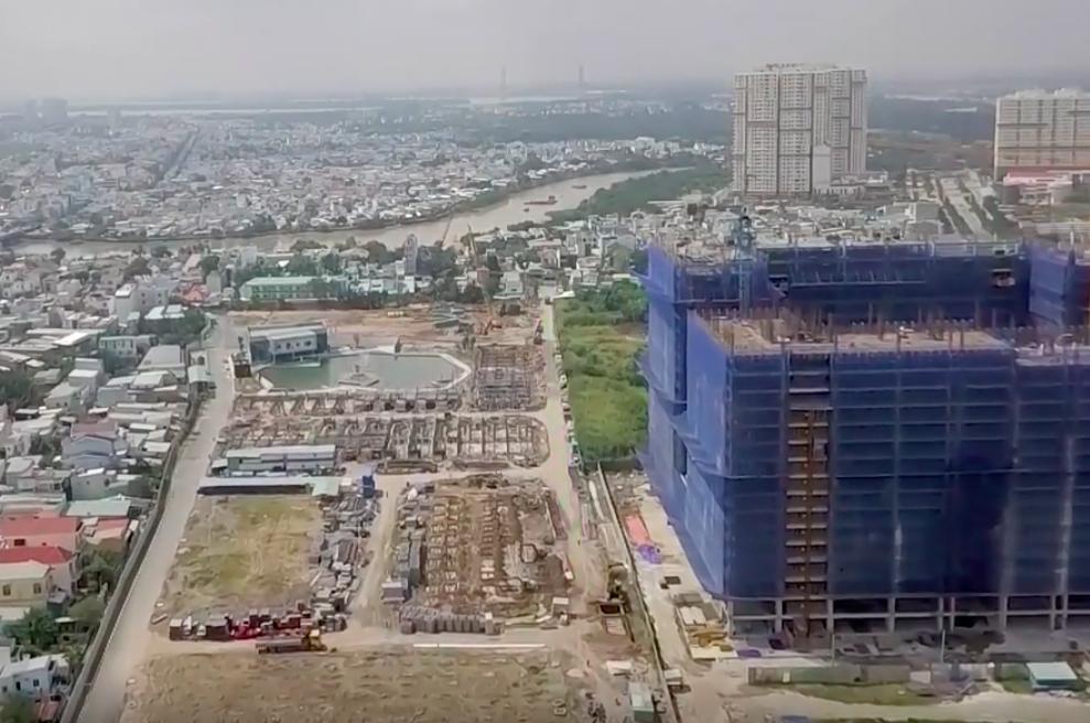 Dự án Green Star Sky Garden của Hưng Lộc Phát bị đình chỉ thi công  - Ảnh 1