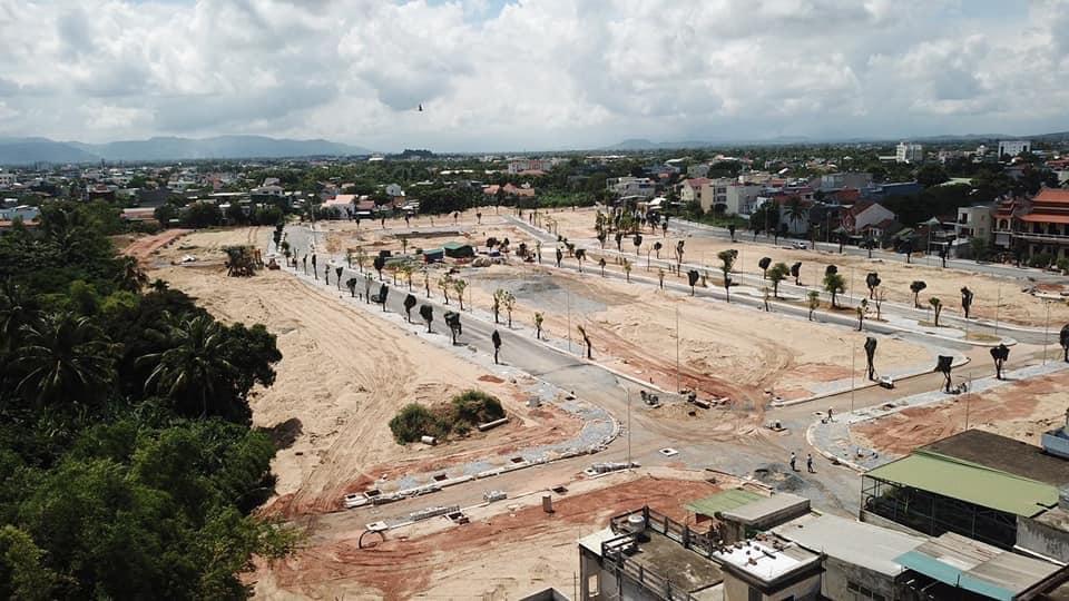 Công ty Phát Đạt bán cát phục vụ dự án Khu dân cư Bàu Cả ra thị trường? - Ảnh 1