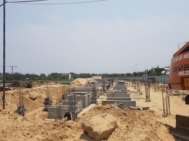 Quảng Nam: Xây dự án khi chưa đủ điều kiện, Công ty DanaHome Land bị xử phạt - Ảnh 1