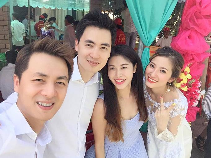 Những chị dâu, em dâu xinh đẹp của sao Việt - Ảnh 4