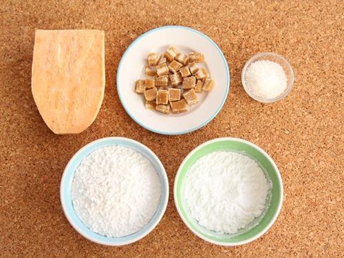 Bánh khoai lang lăn dừa đầy hấp dẫn - Ảnh 1