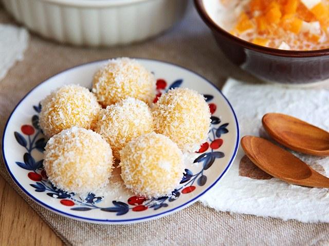 Bánh khoai lang lăn dừa đầy hấp dẫn - Ảnh 3