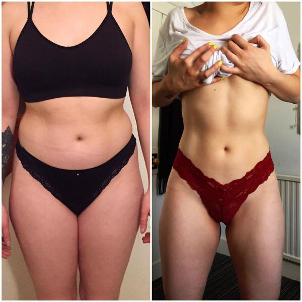 Bị bạn trai chê béo, 9X người Anh giảm 13 kg sau 6 tháng - Ảnh 2