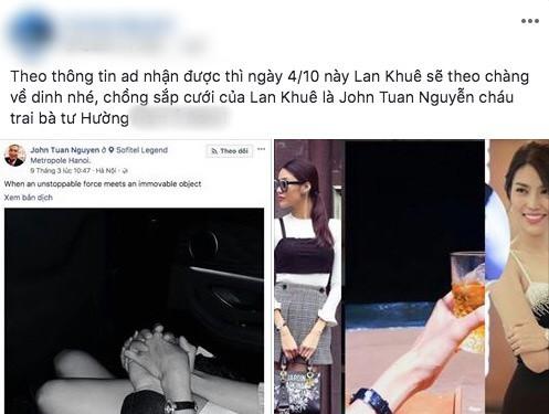 Bạn trai tin đồn lần đầu công khai đăng ảnh cùng Lan Khuê, phải chăng nghi án kết hôn là có thật? - Ảnh 2