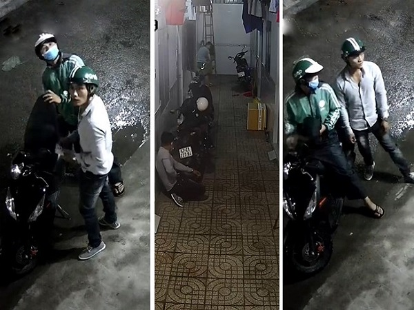 Nam thanh niên vào tận khu trọ trộm xe Exciter ở Thủ Đức - Ảnh 2