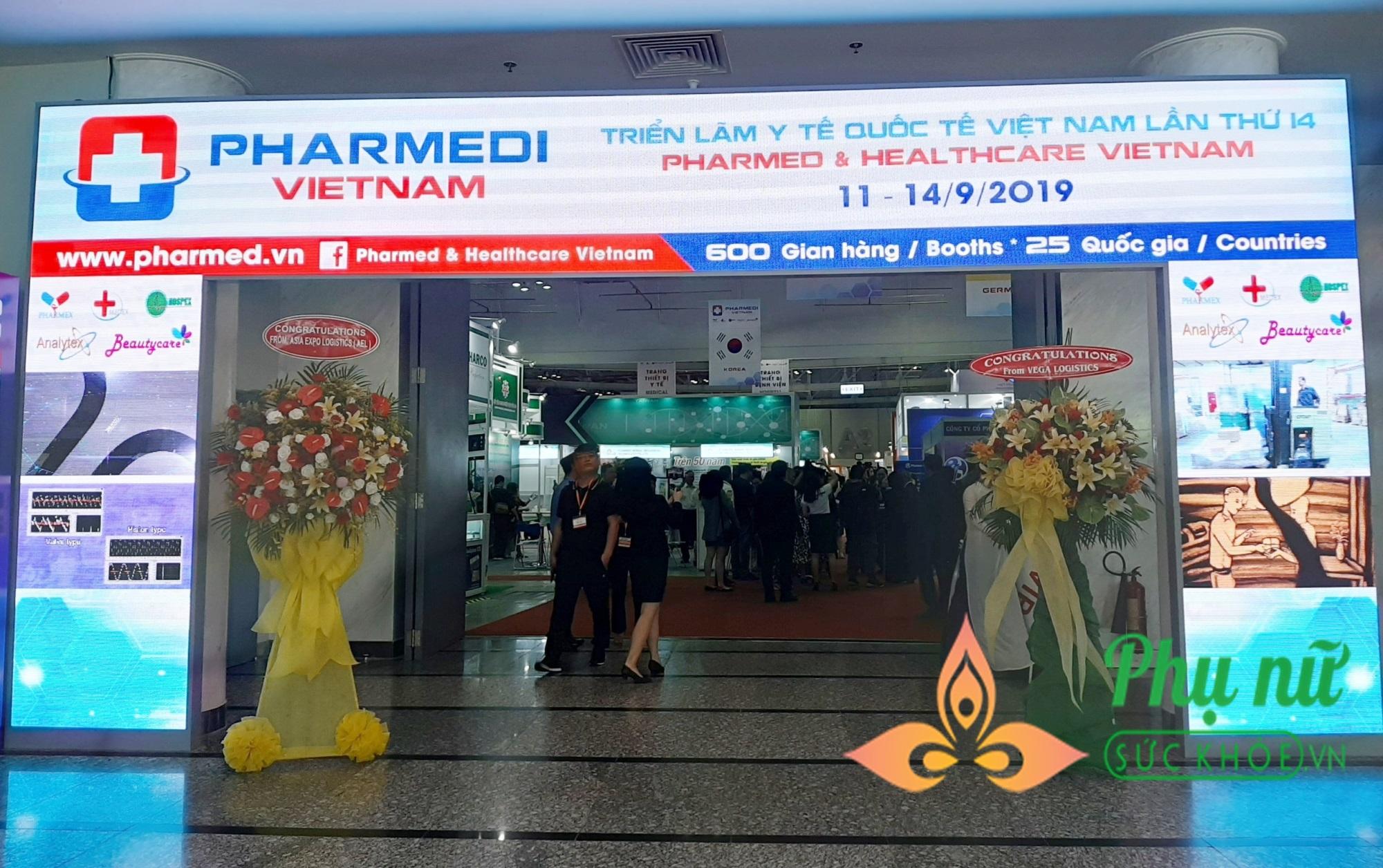 Triển lãm Y tế Quốc tế Việt Nam 2019: Cơ hội vàng giao thương giữa các doanh nghiệp  - Ảnh 1