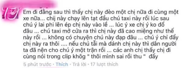 Nữ phượt thủ Hà Nội xinh xắn phân trần chuyện cầm gạch tấn công tài xế taxi - Ảnh 4