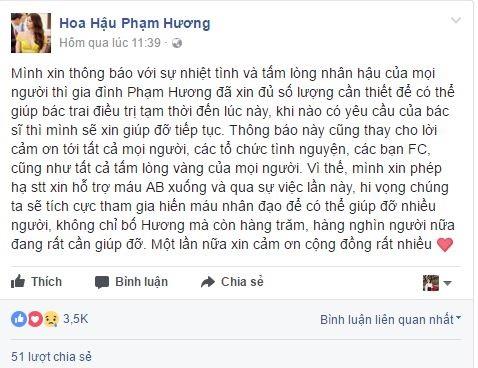 Showbiz Việt tuần qua: Người tiễn biệt bố, người bất lực kêu gọi giúp đỡ trên Facebook - Ảnh 6