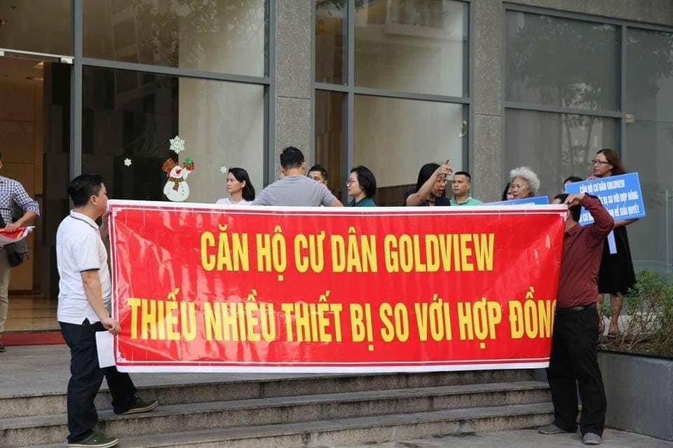 TNR Holdings đang mất điểm thương hiệu tại dự án The Goldview - Ảnh 2