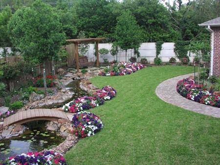 Thiết kế sân vườn cần phải chú ý những vấn đề về phong thủy