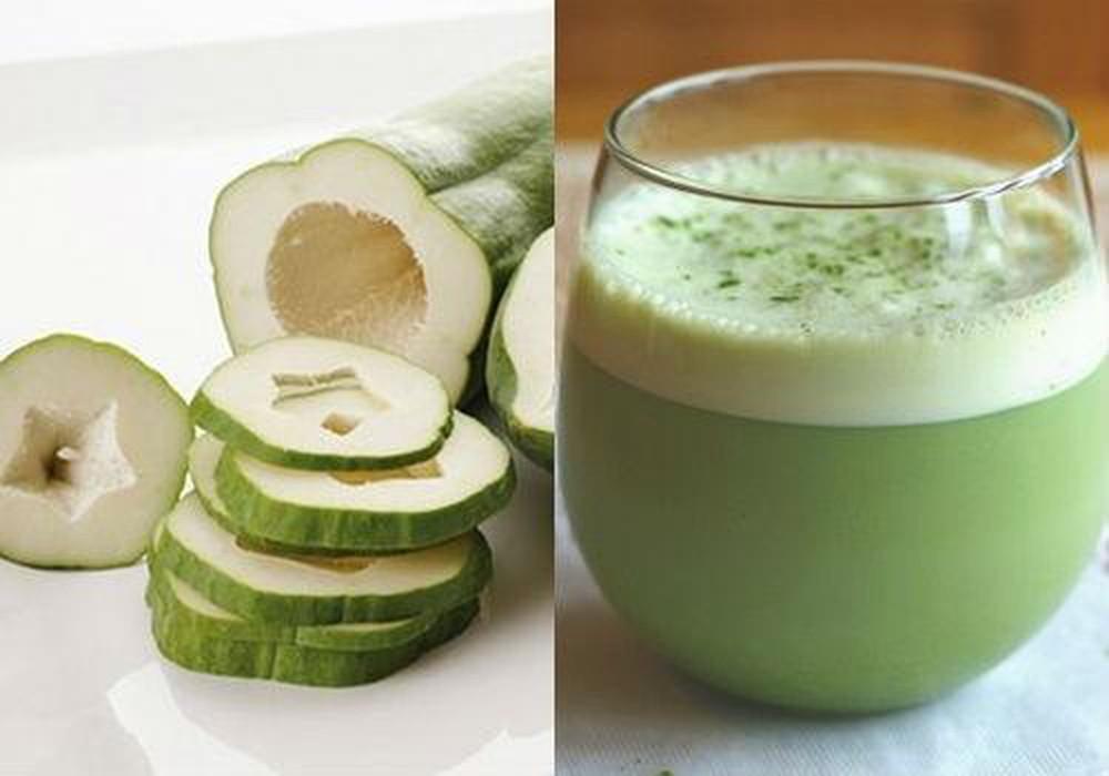 Sinh tố đu đủ xanh - thức uống giúp bạn tăng vòng 1 hiệu quả nhanh chóng
