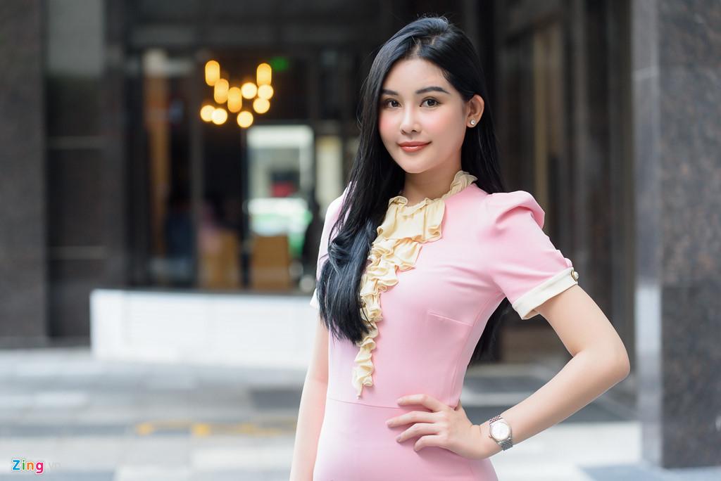 Hoa hậu Đại dương Ngân Anh: