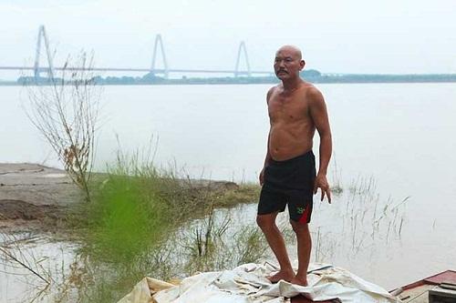 Lời kể của người đàn ông 30 năm vớt 600 xác chết trôi bên bờ sông Hồng