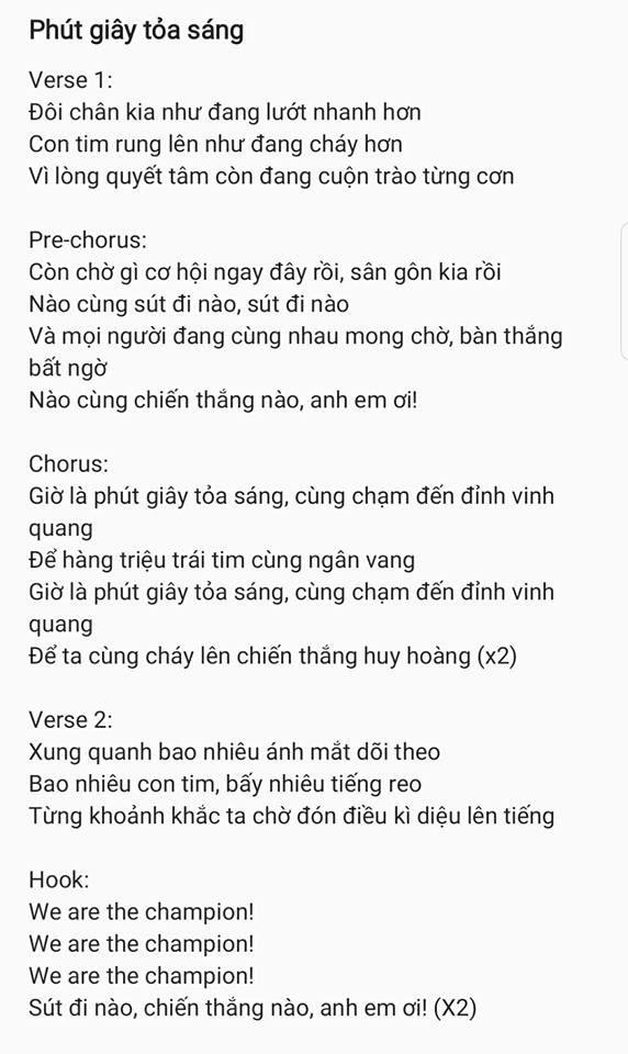 Nhạc sĩ Khắc Hưng sáng tác ca khúc mới dành tặng riêng đội tuyển U23 Việt Nam trước thềm Chung kết - Ảnh 2