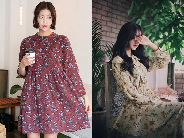 Vào những lúc bạn đang loay hoay không biết nên chọn kiểu trang phục nào để vừa đi chơi vừa đi làm thì hãy chọn cho mình một chiếc váy hoa vintage xinh xắn