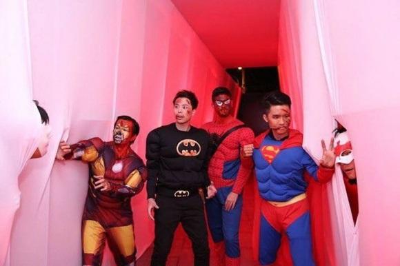 Sao Việt 'biến hóa khôn lường' trong dịp lễ hội Halloween 2017 - Ảnh 12