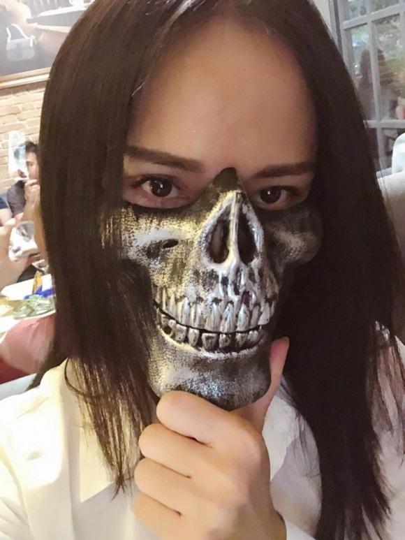 Sao Việt 'biến hóa khôn lường' trong dịp lễ hội Halloween 2017 - Ảnh 10