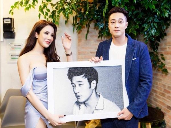 Sao Việt hạnh phúc khi được nắm tay, chụp ảnh bên mỹ nam phim 'Giày thủy tinh' - Ảnh 3