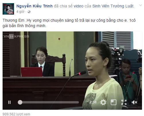 Vụ án HH Phương Nga: giới Sao Việt đã nói gì?