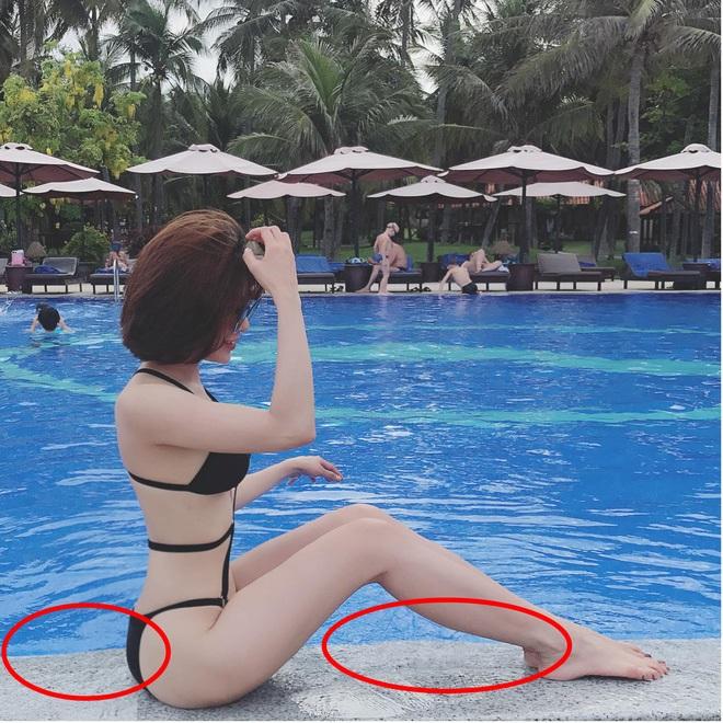 Sao Việt làm 'cong cửa, méo ghế' vì photoshop cải thiện vóc dáng quá đà - Ảnh 7