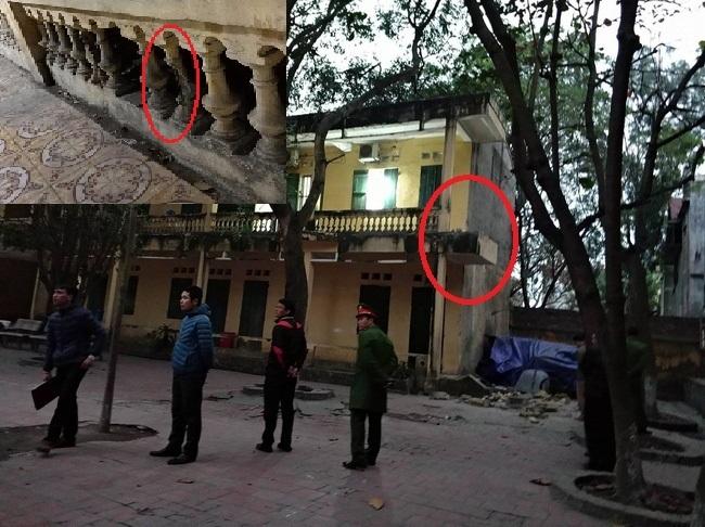Cảnh tượng xuống cấp của trường tiểu học sập lan can làm 16 học sinh nhập viện khiến phụ huynh 'sống trong sợ hãi' - Ảnh 2