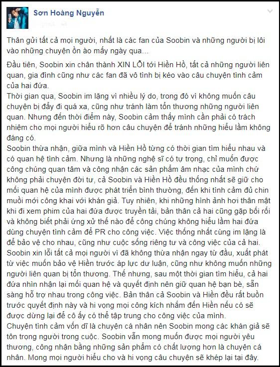 Sau clip bị nghi cố tình 'gài bẫy' Soobin Hoàng Sơn, hàng loạt sao Việt lên tiếng 'dằn mặt' Hiền Hồ - Ảnh 1