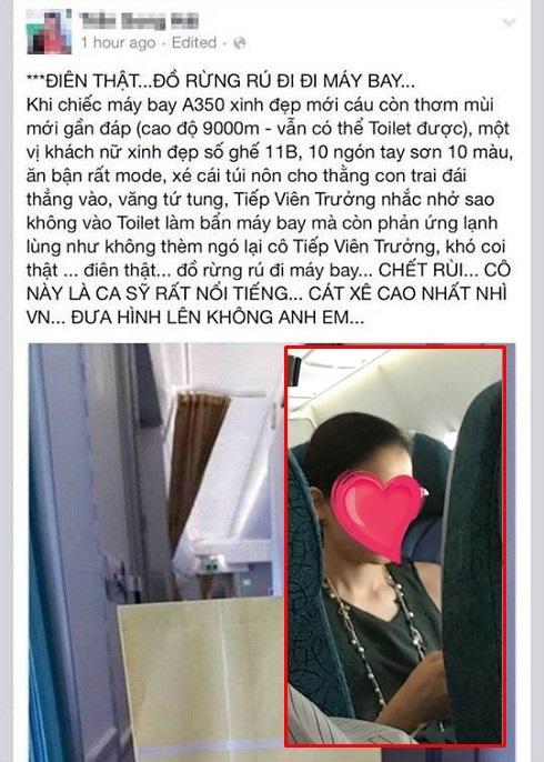 Sao Việt và những hành động phản cảm khi đi máy bay khiến công chúng 'đỏ mặt' - Ảnh 3