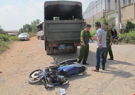 50 công nhân Đồng Nai đập xe Cảnh sát giao thông - Ảnh 2