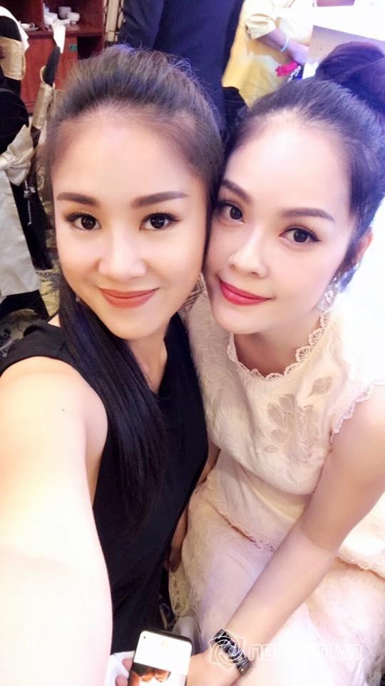 Lê Phương - Trung Kiên tay trong tay đến dự tiệc sinh nhật của con gái Vân Trang và chồng đại gia - Ảnh 2