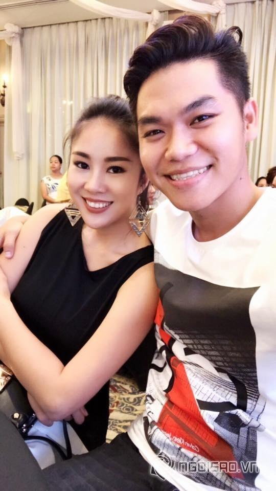 Lê Phương - Trung Kiên tay trong tay đến dự tiệc sinh nhật của con gái Vân Trang và chồng đại gia - Ảnh 3