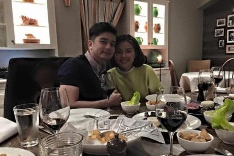 Lê Phương - Trung Kiên tay trong tay đến dự tiệc sinh nhật của con gái Vân Trang và chồng đại gia - Ảnh 8
