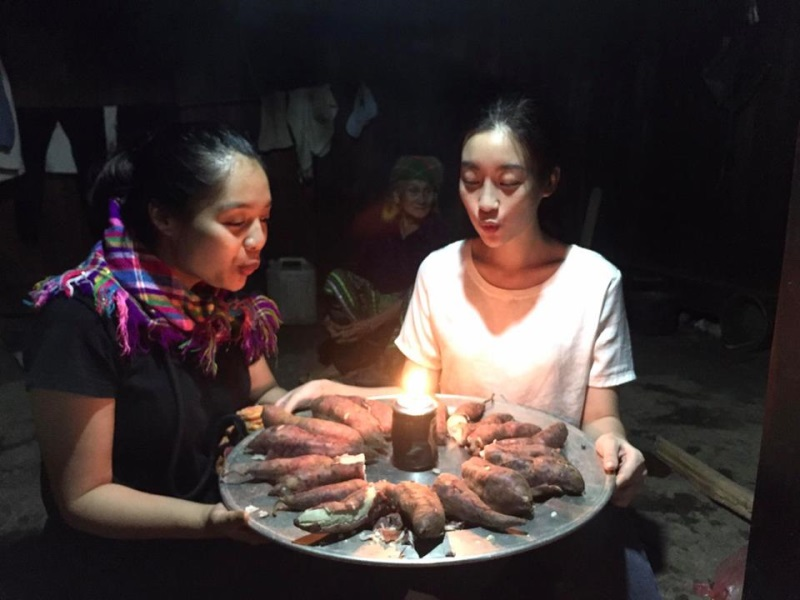 Sinh nhật 'độc nhất vô nhị' đáng nhớ của Hoa hậu Đỗ Mỹ Linh bên mâm khoai lang luộc - Ảnh 5