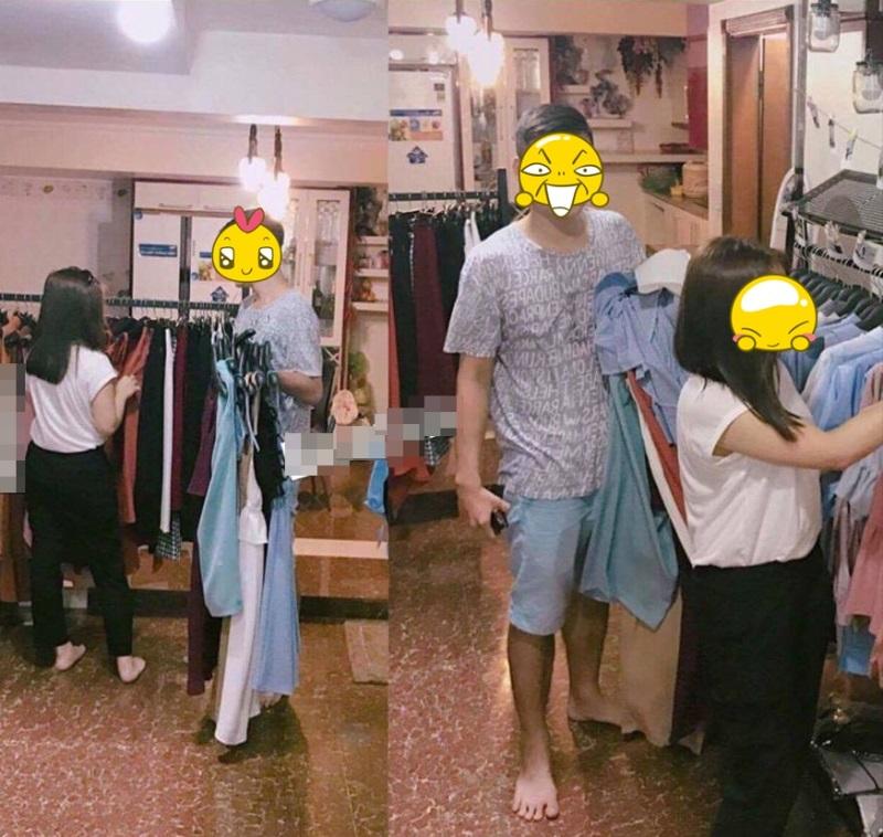 'Soái ca' điển trai xách đồ cho bạn gái đi mua sắm khiến hội chị em xuýt xoa ngưỡng mộ  - Ảnh 2