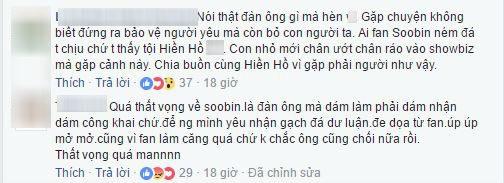 Soobin Hoàng Sơn bị chỉ trích vì cư xử 'không đáng mặt đàn ông' trong chuyện tình cảm - Ảnh 6