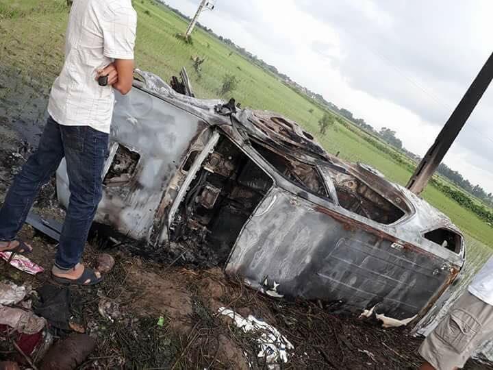 Sự thật không ai ngờ tới của vụ đốt xe ô tô vì nghi bắt cóc trẻ em - Ảnh 1