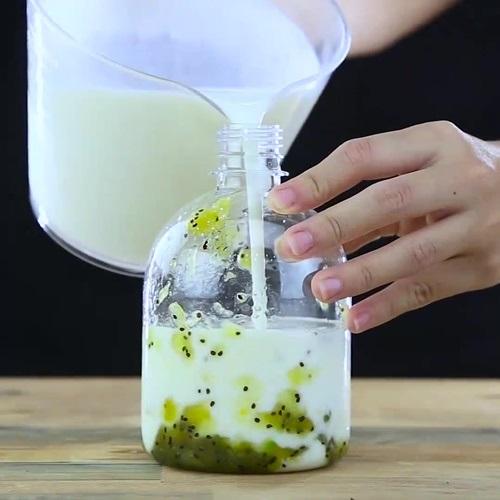 Học cách làm sữa chua chai vị trái cây để uống mỗi ngày, giảm ngay 7kg chỉ trong 1 tuần, da dẻ trắng hồng tiếc gì mà không thử - Ảnh 4