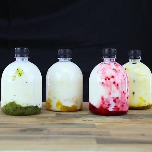 Học cách làm sữa chua chai vị trái cây để uống mỗi ngày, giảm ngay 7kg chỉ trong 1 tuần, da dẻ trắng hồng tiếc gì mà không thử - Ảnh 5