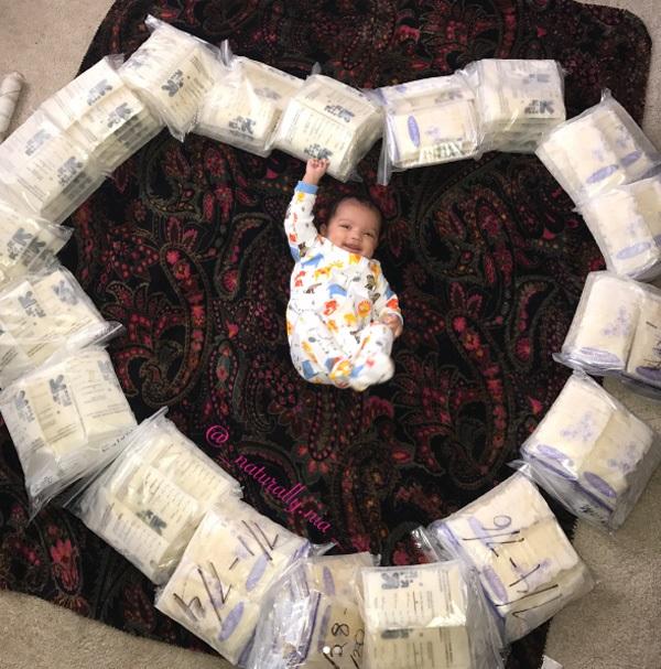 Mẹ nào thiếu sữa, hãy học ngay cách của 'bà mẹ trữ đông tới 30 lít sữa trong 2 tháng' - Ảnh 1