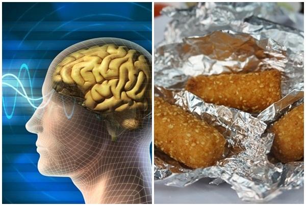 Cảnh báo những nguy hiểm khi dùng giấy bạc nấu ăn ở nhiệt độ cao