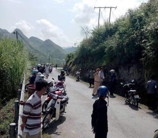 Ba mẹ con chết thương tâm vì bị xe tải cán qua người tại Hà Giang