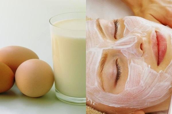 Tắm trắng an toàn và hiệu quả với trứng kết hợp sữa tươi