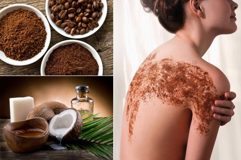 Tắm trắng hiệu quả với cà phê và tinh dầu thiên nhiên