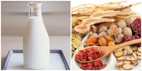 Tắm trắng hiệu quả tại nhà bằng thuốc Bắc kết hợp với sữa chua