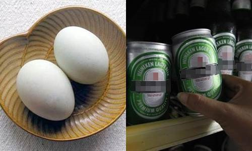 Đập lòng đỏ trứng gà vào cốc bia đánh tan rồi uống, đến thánh gầy cũng phải tăng 7kg/2 tuần mà không sợ tanh - Ảnh 2