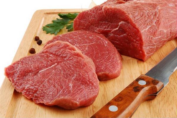Thịt bò nạc giàu sắt tốt cho mẹ bầu